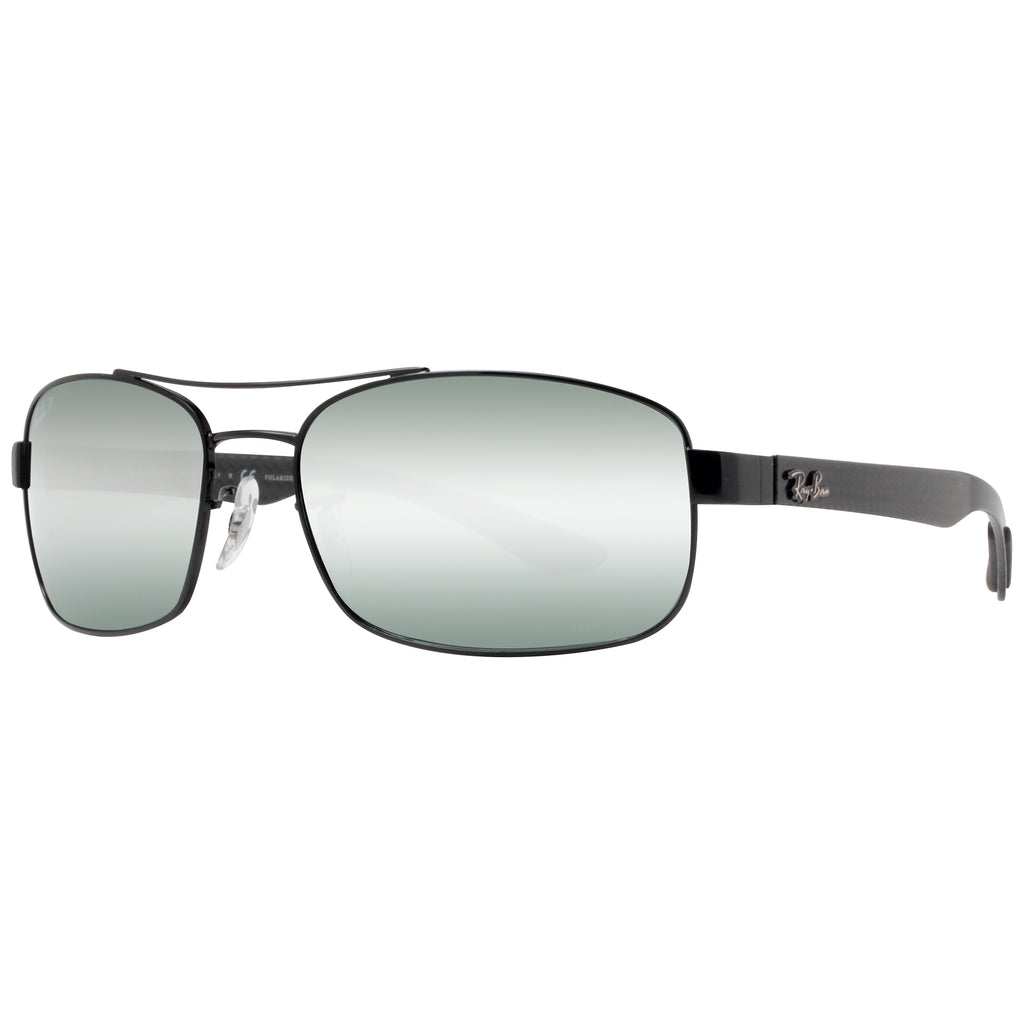 1ad0286356 ... Black Polarized Grey Mirror Chromance Sunglasses. Ray-Ban RB 8318CH 002  5L 62mm. Loading zoom