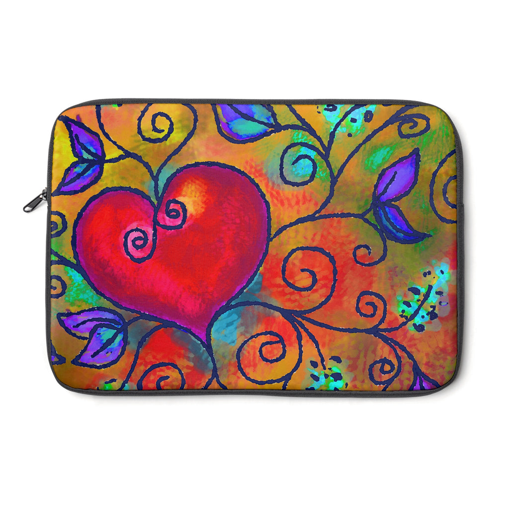 Hearts of Love 3 Tablet and Laptop Sleeve , Laptop Sleeve - The Art Journey