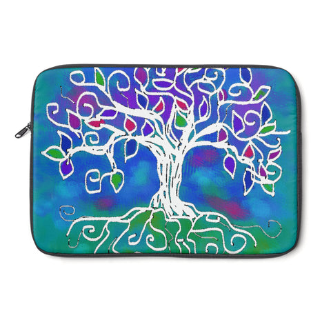 Tree of Life Tablet and Laptop Sleeve , Laptop Sleeve - The Art Journey