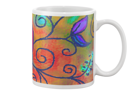 Hearts of Love Coffee Mug 3 , Mug - The Art Journey