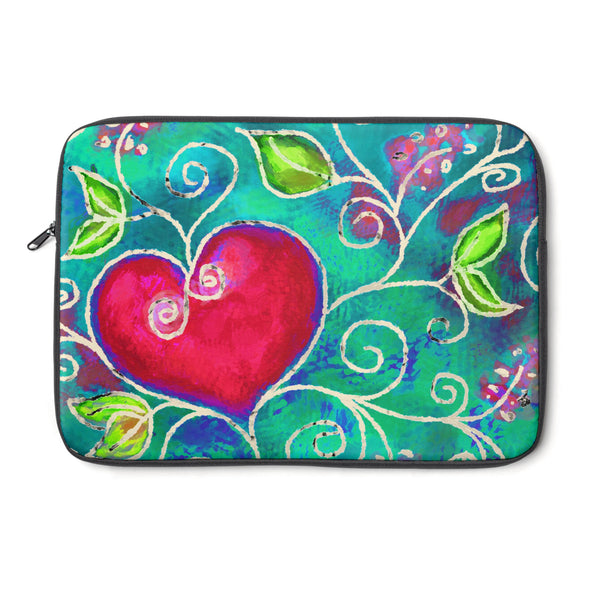 Hearts of Love Tablet and Laptop Sleeve , Laptop Sleeve - The Art Journey
