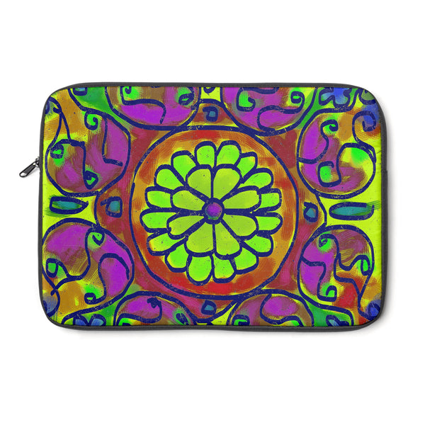 Mandala 6 Tablet and Laptop Sleeve , Laptop Sleeve - The Art Journey