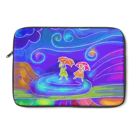 Windy Day Tablet and Laptop Sleeve , Laptop Sleeve - The Art Journey