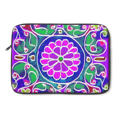 Mandala 4 Tablet and Laptop Sleeve , Laptop Sleeve - The Art Journey