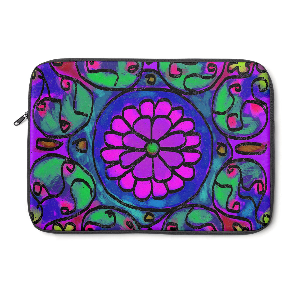 Mandala 1 Tablet and Laptop Sleeve , Laptop Sleeve - The Art Journey