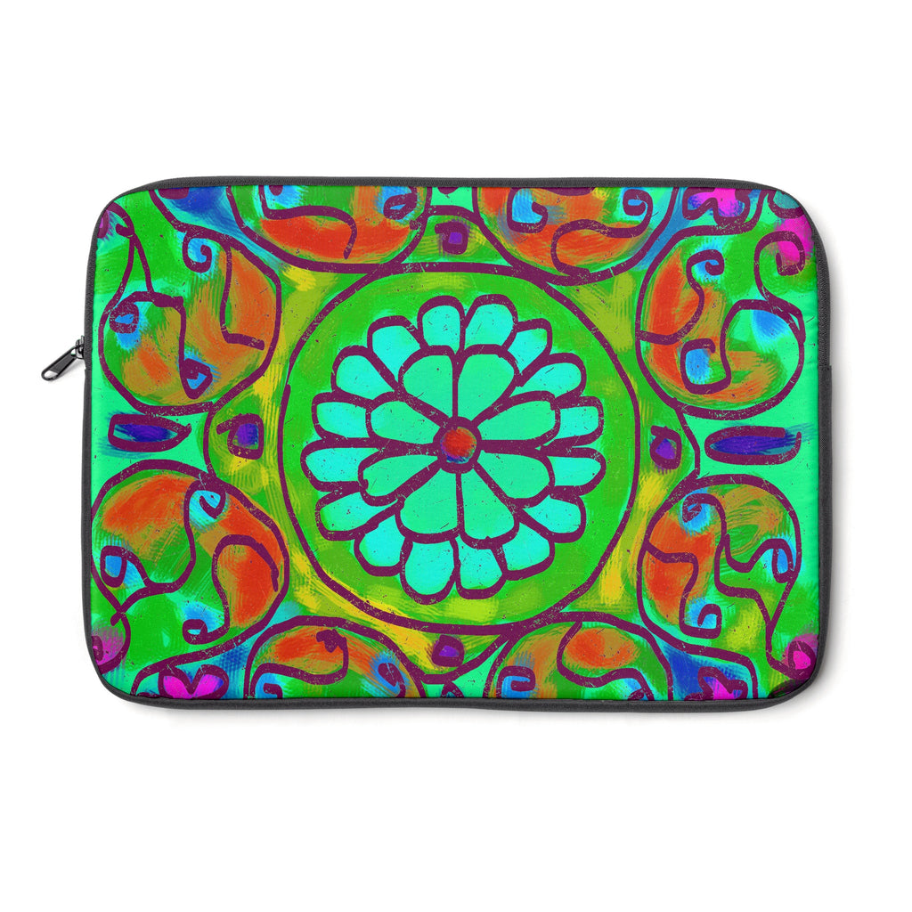 Mandala 8 Tablet and Laptop Sleeve , Laptop Sleeve - The Art Journey