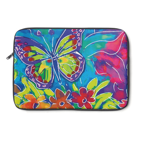 Butterfly tablet and Laptop Sleeve , Laptop Sleeve - The Art Journey