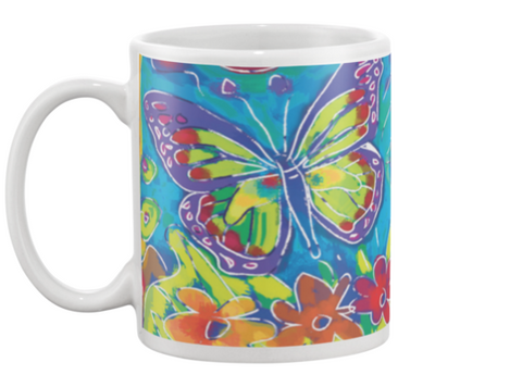 Butterfly Coffee Mug , Mug - The Art Journey