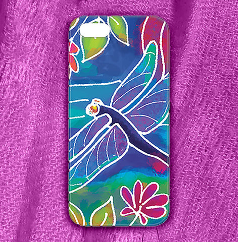 Dragonfly Phone Case , Phone Cases Plastic - The Art Journey