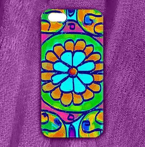 Mandala 7 Phone Case , Phone Cases Plastic - The Art Journey