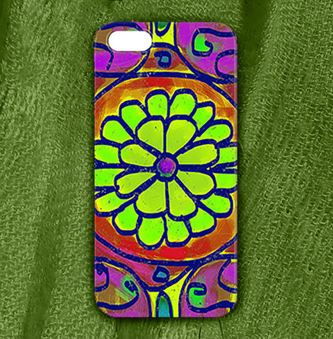 Mandala 6 Phone Case , Phone Cases Plastic - The Art Journey