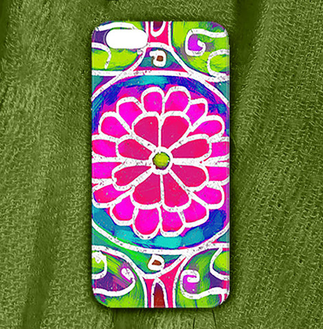 Mandala 5 Phone Case , Phone Cases Plastic - The Art Journey