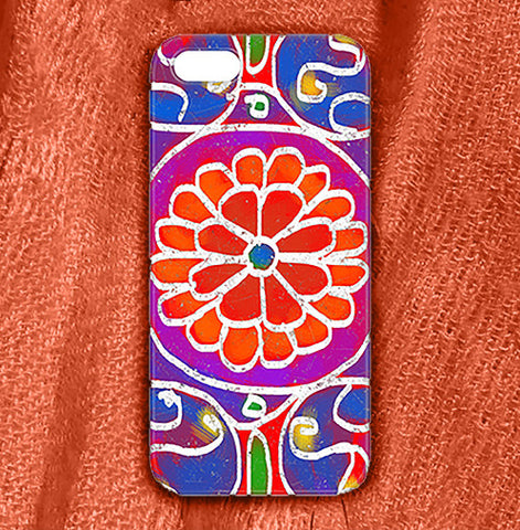Mandala 3 Phone Case , Phone Cases Plastic - The Art Journey