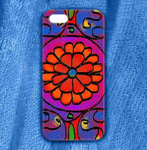 Mandala 4 Phone Case , Phone Cases Plastic - The Art Journey