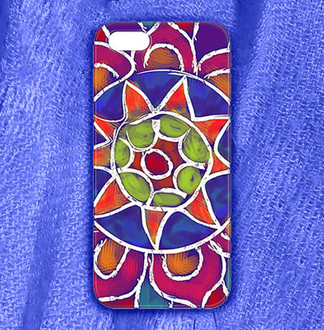 Mandala 2 Phone Case , Phone Cases Plastic - The Art Journey