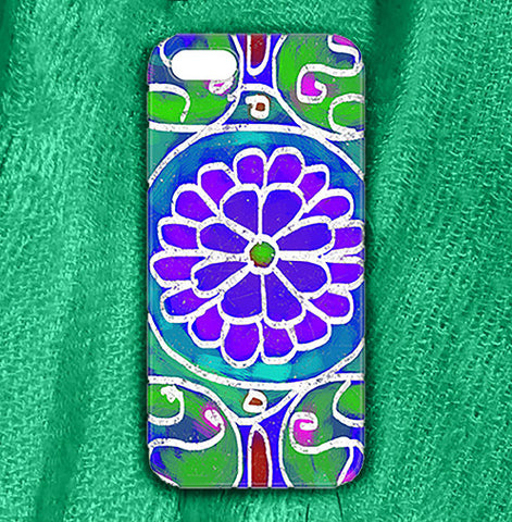 Mandala1 Phone Case , Phone Cases Plastic - The Art Journey