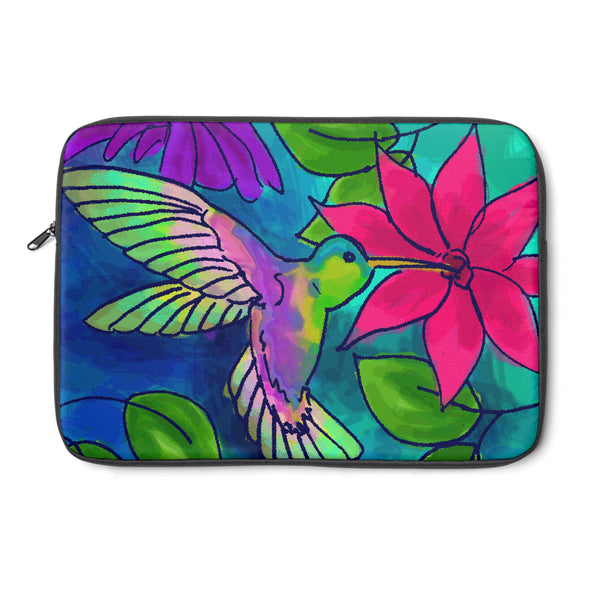 Hummingbird Tablet and Laptop Sleeve , Laptop Sleeve - The Art Journey