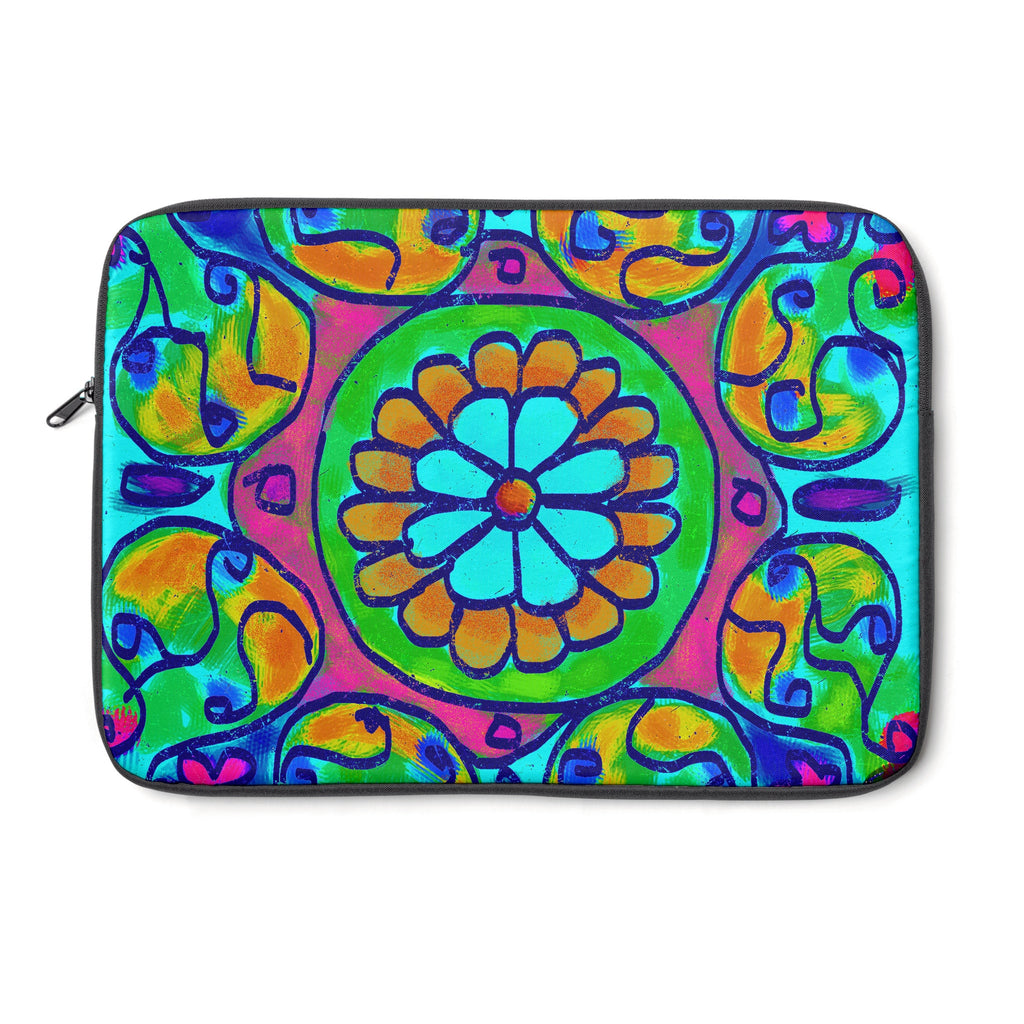 Mandala 7 Tablet and Laptop Sleeve , Laptop Sleeve - The Art Journey
