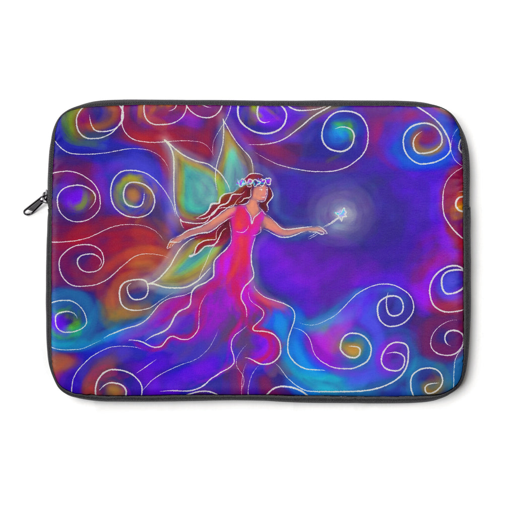 Fairy Tablet and Laptop Sleeve , Laptop Sleeve - The Art Journey