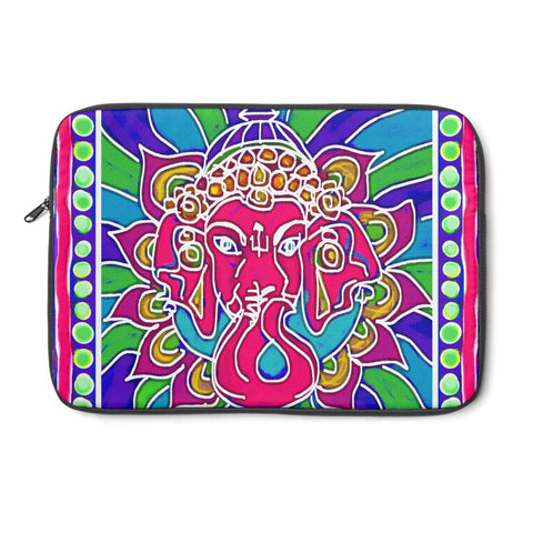 Ganesha Tablet and Laptop Sleeve , Laptop Sleeve - The Art Journey