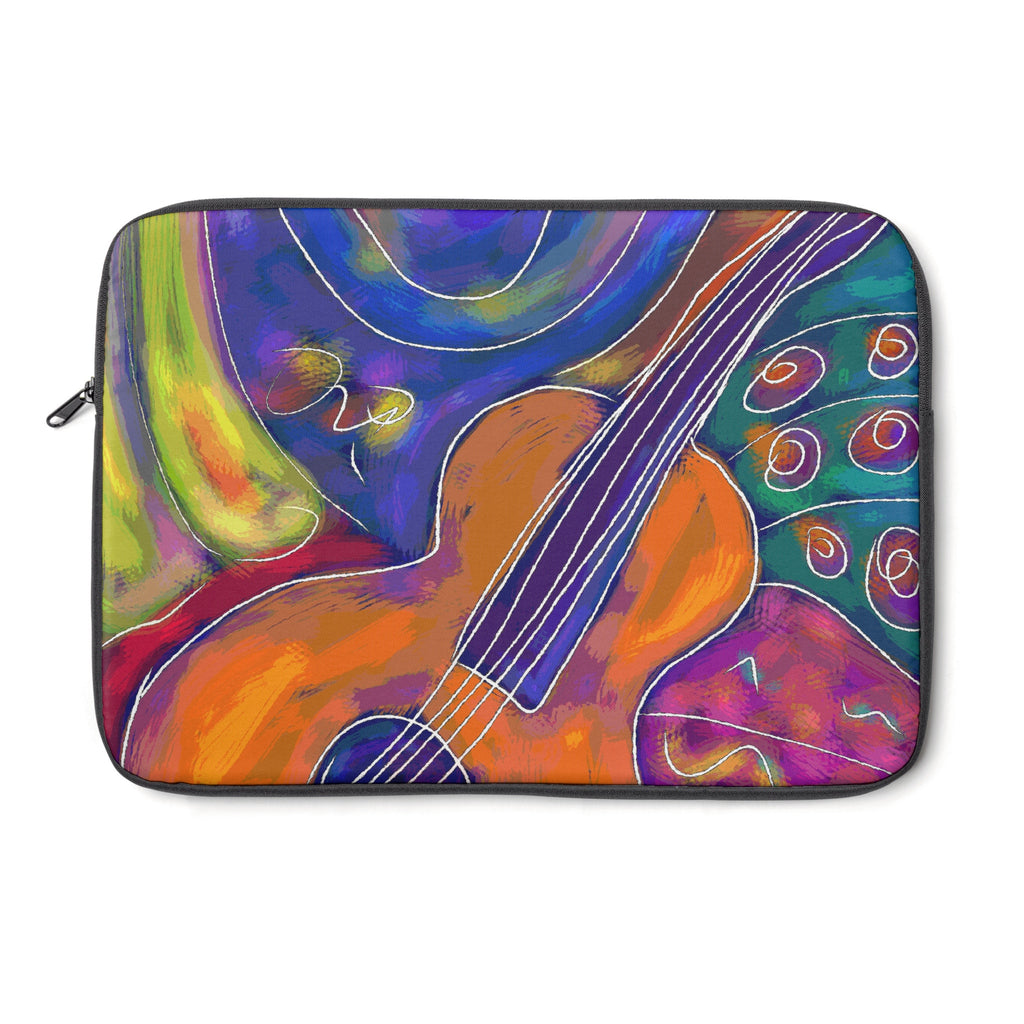 Guitar Tablet and Laptop Sleeve , Laptop Sleeve - The Art Journey