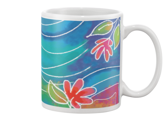 Dragonfly Coffee Mug , Mug - The Art Journey