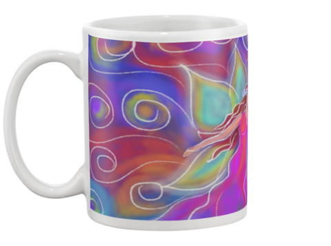 Fairy Coffee Mug , Mug - The Art Journey