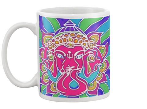 Ganesha 1 Coffee Mug , Mug - The Art Journey
