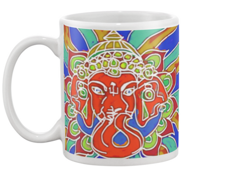 Ganesha 2 Coffee Mug , Mug - The Art Journey