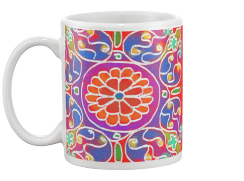 Mandala 3 Coffee Mug , Mug - The Art Journey
