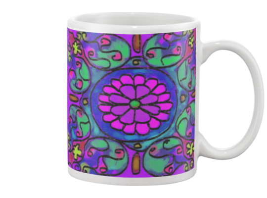 Mandala 4 Coffee Mug , Mug - The Art Journey