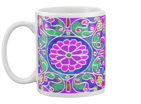 Mandala 5 Coffee Mug , Mug - The Art Journey