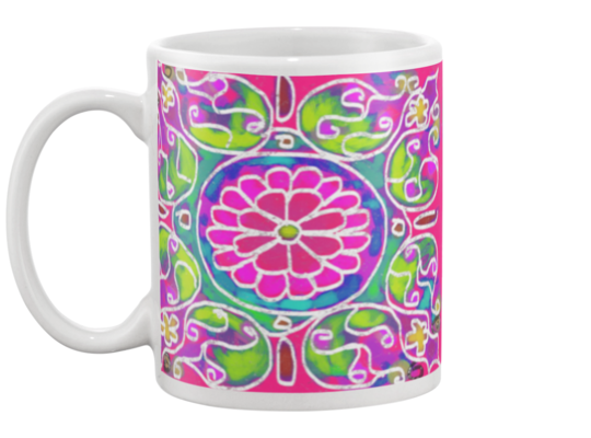 Mandala 6 Coffee Mug , Mug - The Art Journey