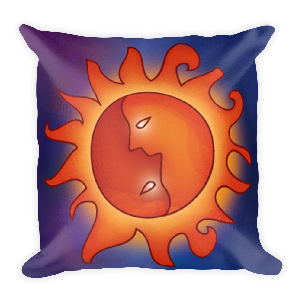 Sun Artistic Decorative Pillow , Pillows - The Art Journey