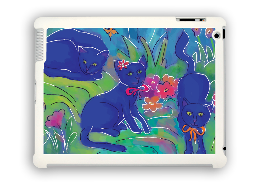 Ipad Gift Cats 2 , iPad Cases - The Art Journey