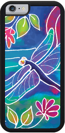 Dragonfly , iPhone Case - The Art Journey