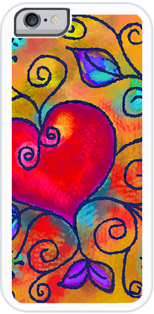 Heart of Love 3 , iPhone Case - The Art Journey