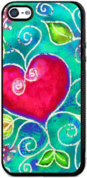 Heart of Love 2 , iPhone Case - The Art Journey