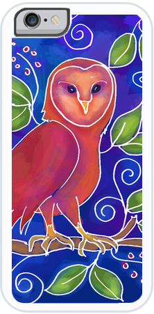 Owl , iPhone Case - The Art Journey