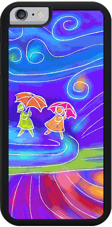 WIndy Day , iPhone Case - The Art Journey