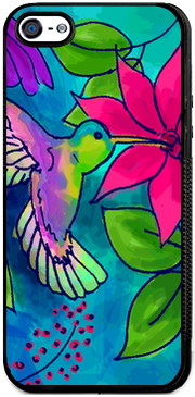 Hummingbird , iPhone Case - The Art Journey