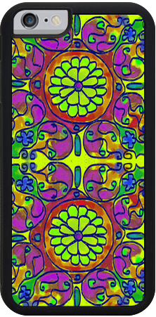 Mandala 6 , iPhone Case - The Art Journey
