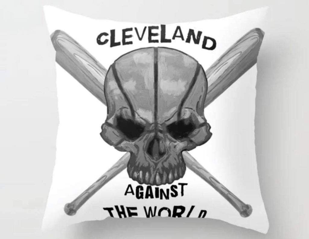 Cleveland Against The World Pillow