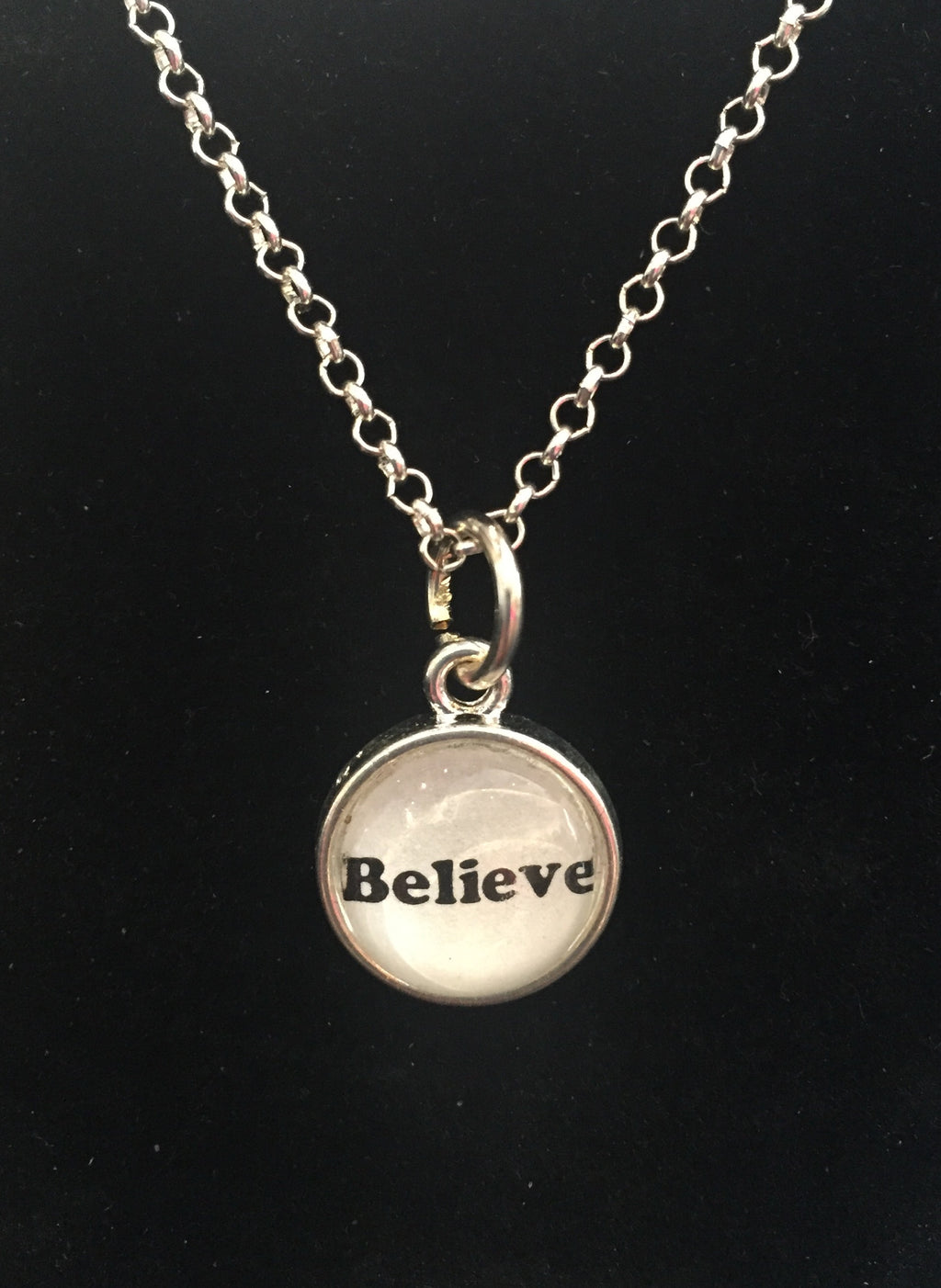 Believe Jewelry Necklace. Cleveland, Ohio. Believeland
