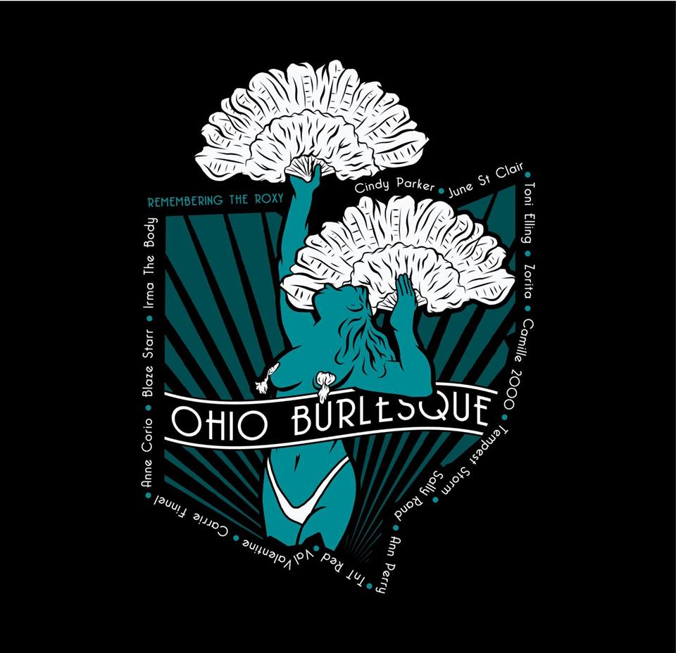 **PRE ORDER***  The Official Ohio Burlesque Tee
