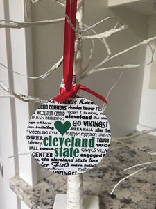 Cleveland State, Handmade Ornament