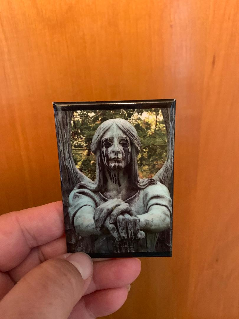 Haserot Angel From Lakeview Cemetery Magnet