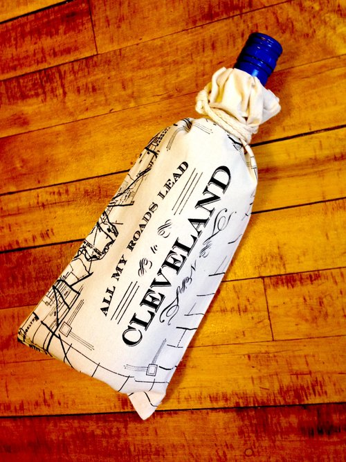 Cleveland Canvas Booze Bag
