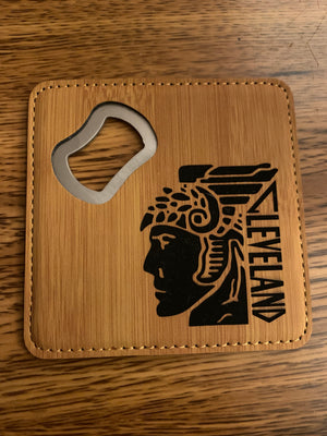 Cleveland Themed Bottle Openers / Coasters