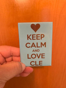 Keep Calm and Love CLE Magnet